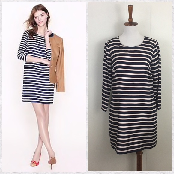30cc72549d0 ... Dress In Striped Silk Twill. J. Crew. M 5c47eef75c44521d1652f178.  M 5c47f0d7baebf6fcf0210dac. M 5c47f0d9194dad968a9ec228.  M 5c47efddc61777d0d6861c84